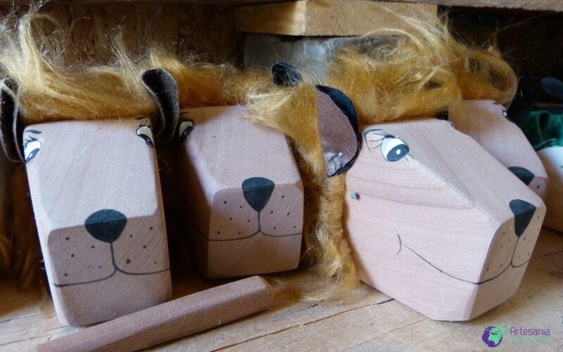 Fabricación marionetas infantiles