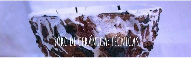 grupo de facebook - foro de cerámica - técnicas