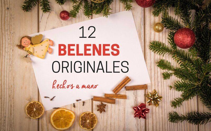 61be17fd757 12 BELENES ORIGINALES Y HECHOS A MANO - Artesanía por el Mundo