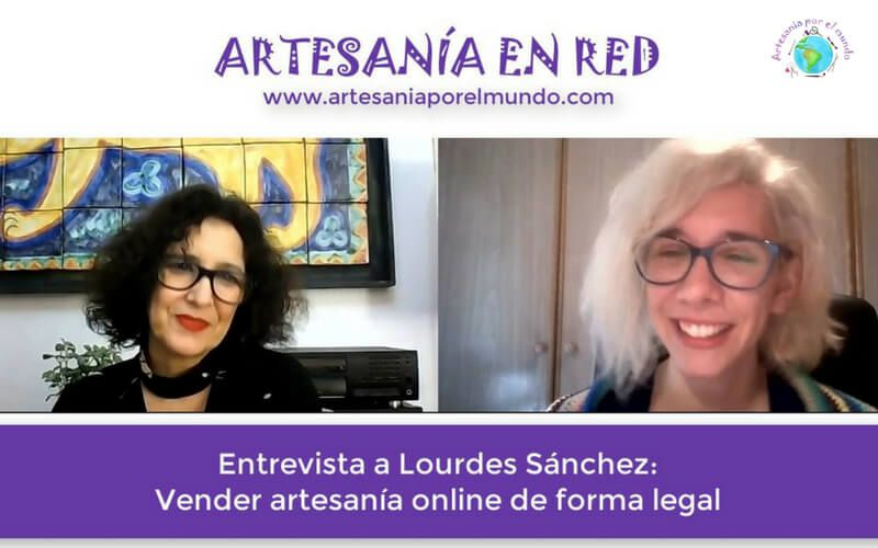 Vender artesania online de forma legal