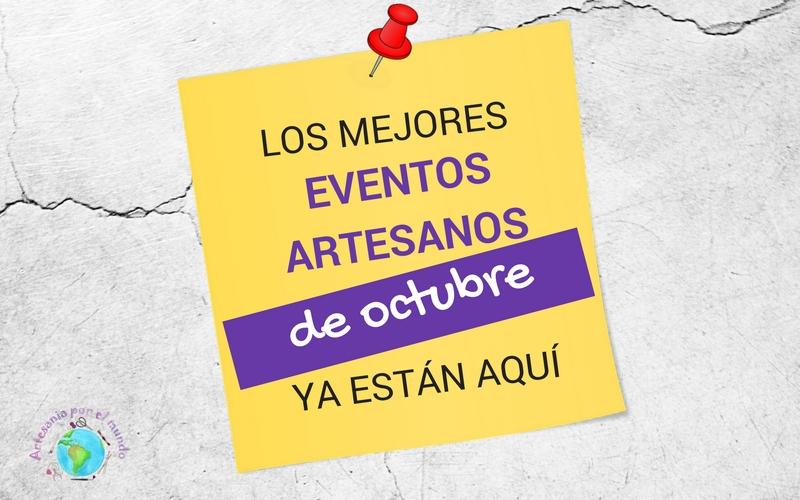 eventos artesania octubre