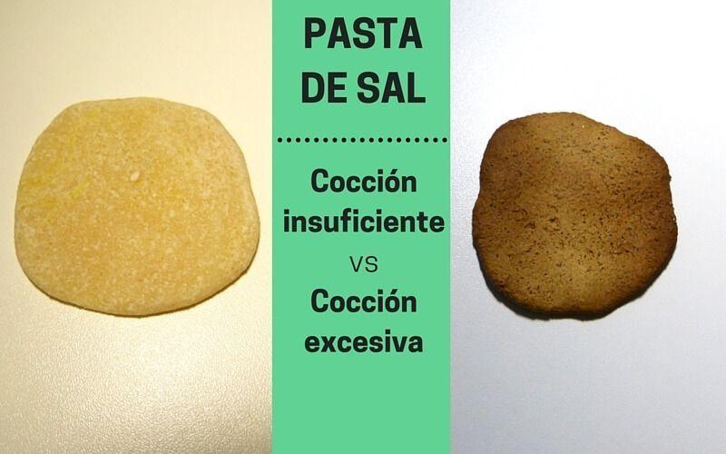 Comparativa cocción Pasta de sal