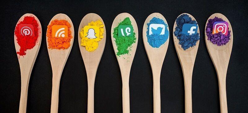 cucharas redes sociales