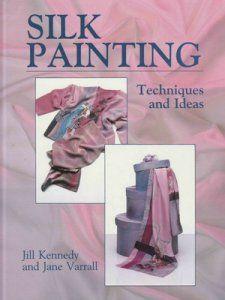 libro pintar sobre seda tecnicas