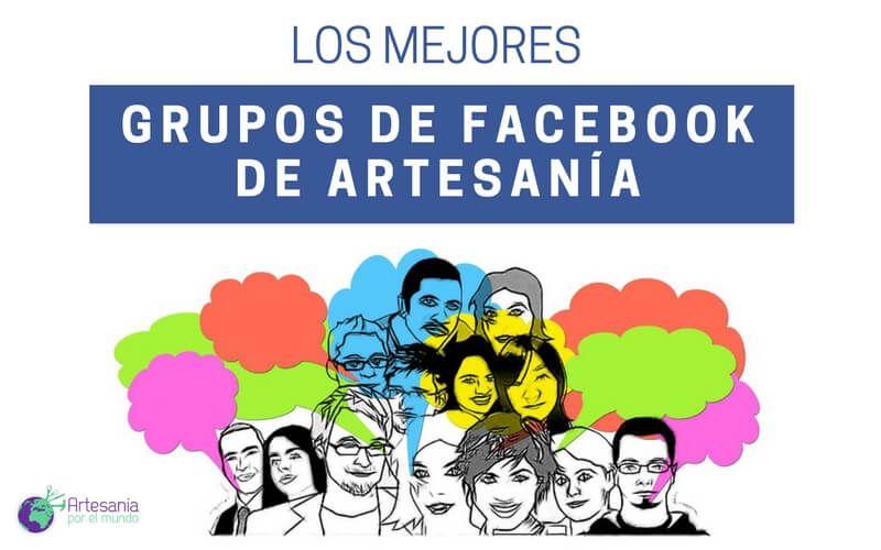 portada grupos de facebook de artesania