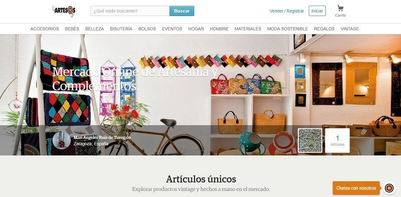 vender handmade artesos