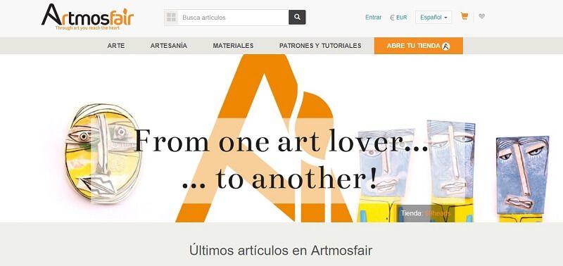 vender artesania online artmosfair