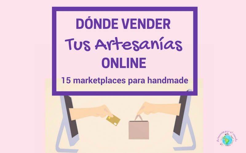 Plataformas para vender artesania online