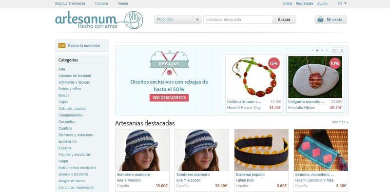 vender artesania artesanum